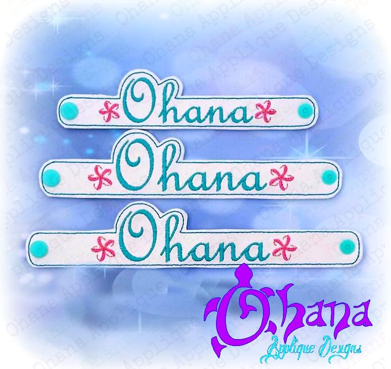 Ohana  Bracelet / Wristlet