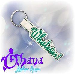 Whatever! Snap tab Key Chain