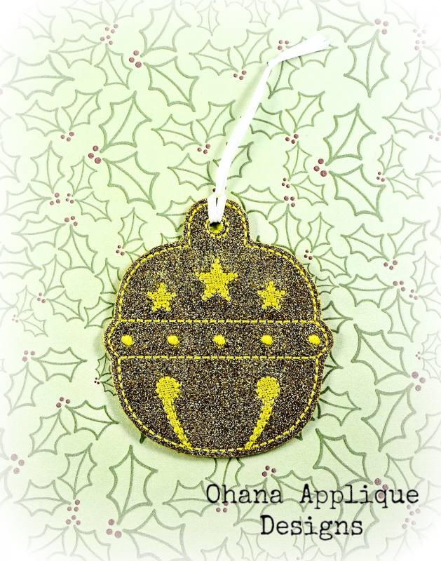 Star Bell Christmas Ornament (CO)