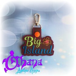 Big Island Snap Tab Key Ring