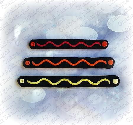Crayon Wrap Wristlet