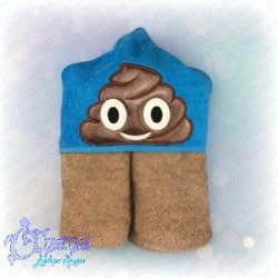Poop Emotion Applique