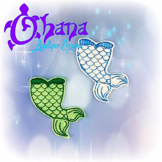 Mermaid Tail Mini Slip On (MSO)