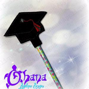 Graduation Cap Pencil Topper (PT)