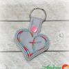 Heart Cross Snap Tab
