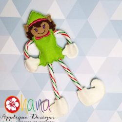Elf Candy Cane Holder SET