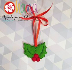 Hollyberry Christmas Ornament