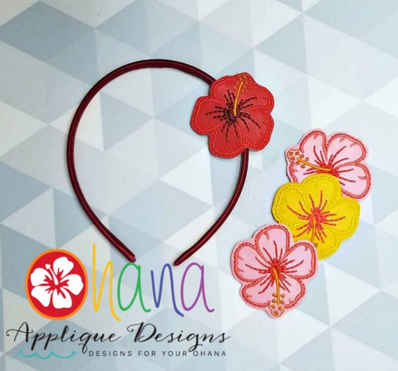 Hibiscus  Headband Cover (HBC)