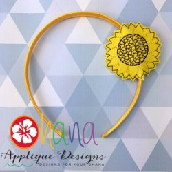 Sunflower Headband Cover (HBC)