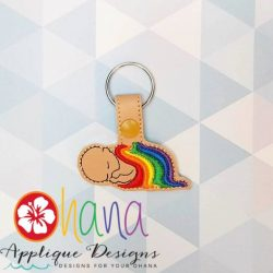 Rainbow Baby KC Snap Tab
