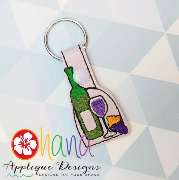 Wine and Cheese Snap Tab KC