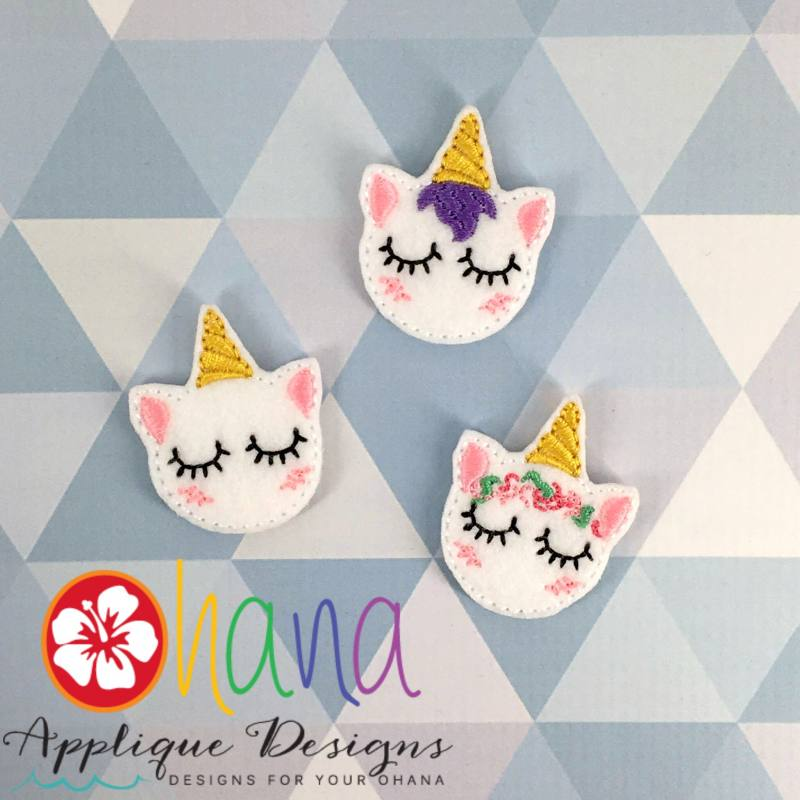 Dreaming Unicorn Felties SET