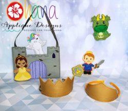 Fantasy Kingdom Finger Puppet SET