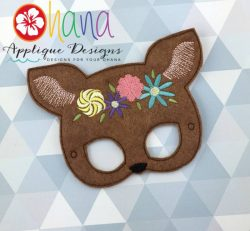 Floral Fawn Mask