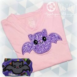 Happy Bat Applique