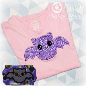 Happy Bat Applique