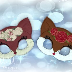 Floral Fox Mask