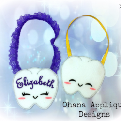 Kawaii Tooth Door Hanger Tooth fairy door hanger