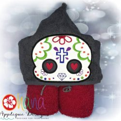 Sugar Skull (Cross) Peeker