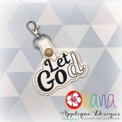 Let Go Let God Snap Tab