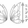 Butterfly Wings (1) Feltie