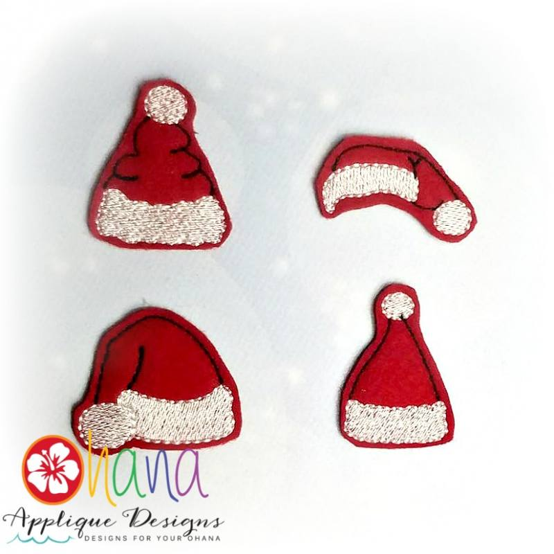Santa Hats Felties