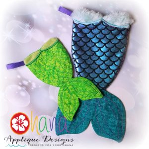 Mermaid Tail Stocking