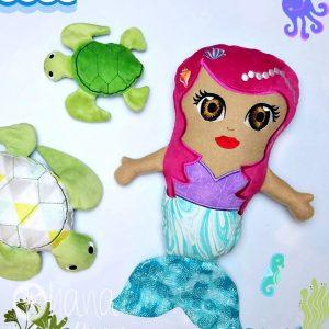 Mermaid Stuffie