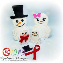Snowman / Snowgirl Buildables