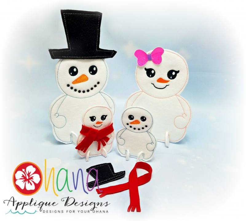 Snowman / Snowgirl Buildables