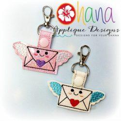 Airmail Envelope Snap Tab