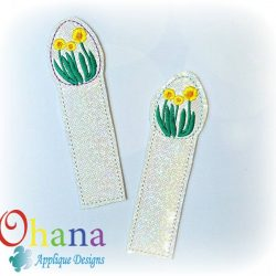 Daffodil Egg Bookmark