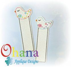 Spring Flower Bird Bookmark