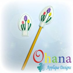 Tulip Egg Pencil Topper (PT)