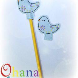 Spring Bird Pencil Topper (PT)