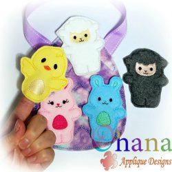 Spring Animal Finger Puppets