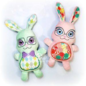Trio Bunny Stuffies
