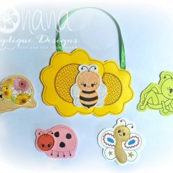 Spring Buggies Finger Puppets