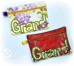 Grand-Ma (Grandma) Zipper Bag