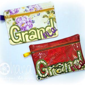 Grand-Ma (Grandma) Zipper Bag