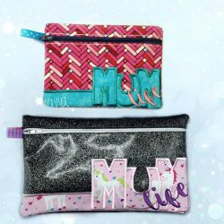 Mum Life Zipper Bag