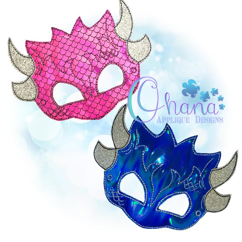 Dragon Mask ASH and MaggieH 80072