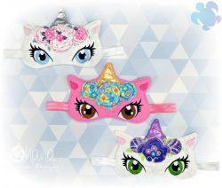 Floral Unicorn Sleep Mask