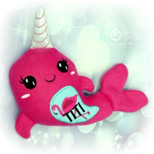 Narwhal stuffie