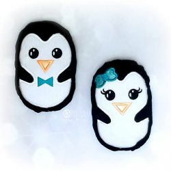 Girl and Boy Penguins Stuffie