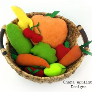 Fruit Veggie Stuffie SET (1) 72