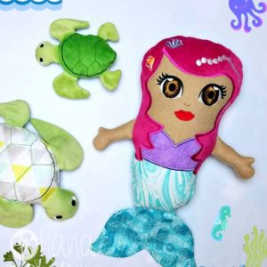 stuffie mermaid 72