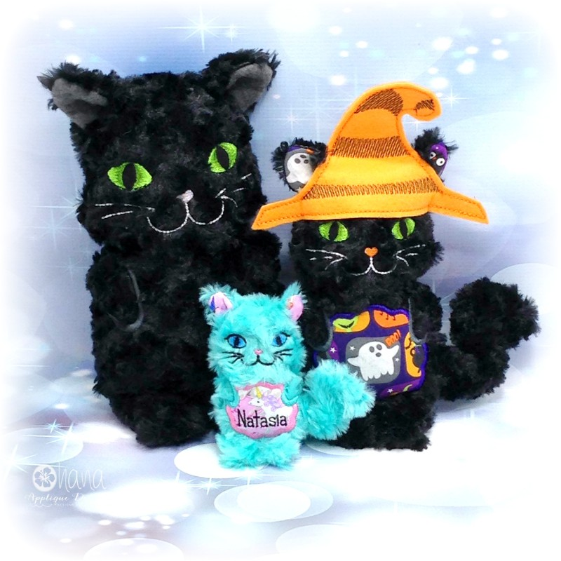 Holiday Cat Stuffie with Hat