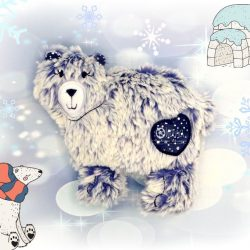 Polar Bear Stuffie Plushie