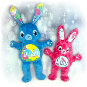 Bunny Stuffie Embroidery Design